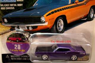 JL MUSCLE CARS USA 1970 Plymouth AAR Cuda