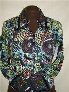 MultiColor West Pleasure Rhinestone Zipper Top 110RZ