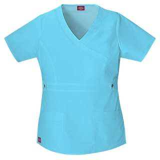 NWT Dickies 817355 YOUtility Junior Fit Nurse Scrub Top XS 3XL