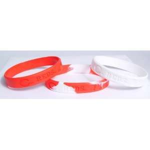 Major League Baseball Team Wrist Band Sets   Cincinnati