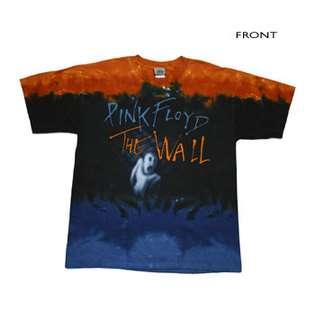 JiGGy Pink Floyd   Run Like Hell Tie Dye T Shirt