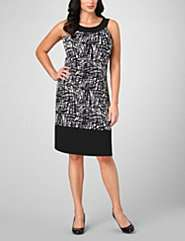 ,entityNameBlack & White Print Dress,productId142865
