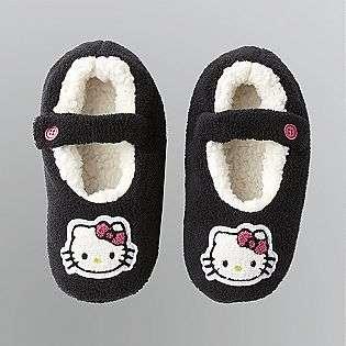 Fleece Mary Jane Gripper Slippers  Hello Kitty Shoes Womens Slippers