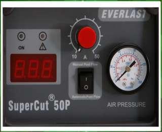 EVERLAST 50AMP PLASMA CUTTER PILOT ARC 110V 220V 50a 50 AMP 50AMP