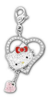 GIOIELLI SWAROVSKI HELLO KITTY ICONIC HEART CHARM NEW ART. 1097222