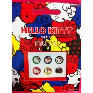 6 in 1 Hello Kitty Iphone Home Button Sticker Cell Phones