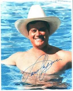 Larry Hagman Autogramm   J. R. Dallas