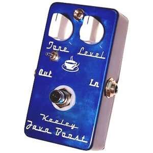 Keeley Electronics Java Boost Treble Booster Pedal