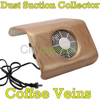 Dust Suction Collector Nail Art Salon 6 Color US Seller 110V 120V
