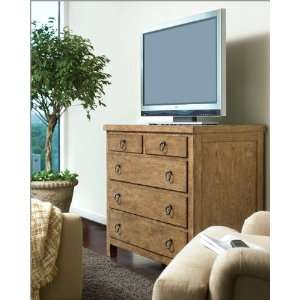 Universal Furniture Media Chest Rough Luxe UF045180: Home