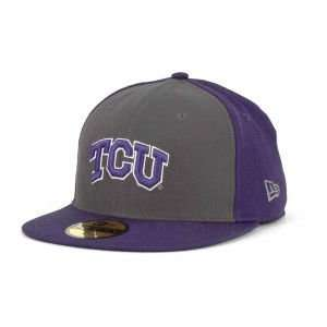Texas Christian Horned Frogs New Era 59FIFTY NCAA 2 Way