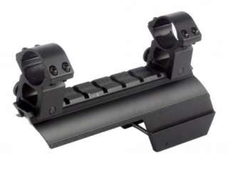Square Remington 870 12ga Saddle Scope Mount & Rings