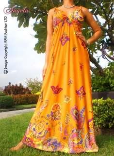 NEW Summer Evening/Cocktail Long Women Maxi Dress Size Plus 6   22 M