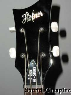 Hofner Icon BEATLE Vintage Violin Bass Guitar