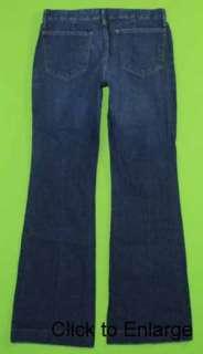 Mossimo sz 8 x 31 Stretch Womens blue Jeans Denim Pants FL35 |