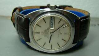 VINTAGE OMEGA AUTO CONSTELLATION DAY DATE MENS WATCH OLD USED ANTIQUE