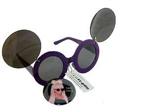 INCH BUTTON PIN OF LADY GAGA WEARING SUN GLASSES+