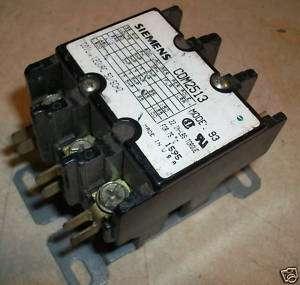 Siemens Contactor CDM2513 120v coil