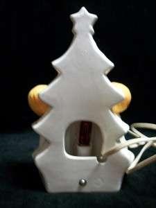 BOY GIRL CHRISTMAS CAROLER TREE NIGHT LIGHT FIGURINE DECORATION