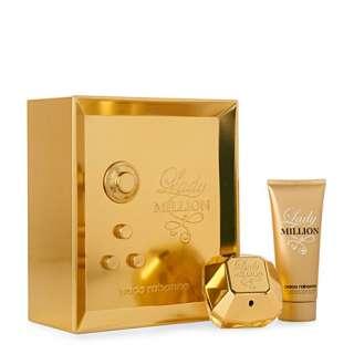 PACO RABANNE Lady Million eau de parfum 50ml gift set