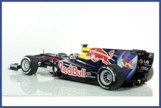 MINICHAMPS 2010 F1 RENAULT RB6 MARK WEBBER 1/18 #6