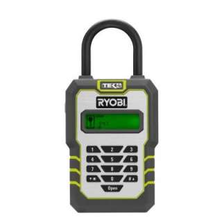 RyobiTek4 Digital Key Lock Box with 4 Volt Battery and Charger RP4310