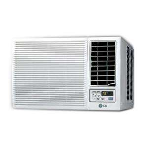 LG Electronics 7,000 BTU 115v Window Air Conditioner with Heat and