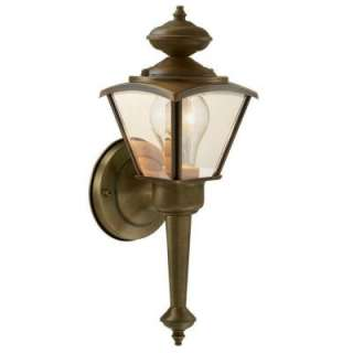 Hampton Bay Wall Mount Outdoor Lantern  DISCONTINUED WB0321 at The