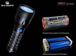XM L U2 LED Flashlight 900Lm + 18650 Rechargeable Battery Pack