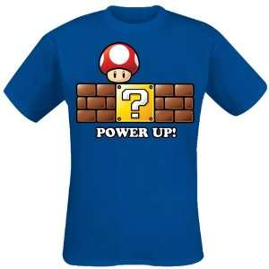 Super Mario Bros. T Shirt Power Up Größe M  Küche