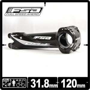 FSA Carbon Pro Stem 31.8 x 120 mm 6 Deg MTB Road Bike Carbon warp