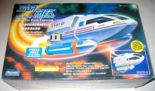 1992 NEW SEALED 100%     STAR TREK Next Gen Shuttlecraft Goddard