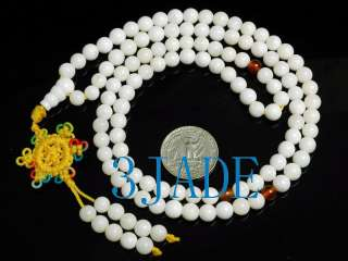 28 Natural Deep Sea Tridacna Shell Prayer Beads Mala