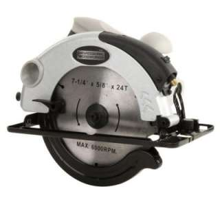 Professional Woodworker 10 Amp 7 1/4 Inch Circular Saw Laser Guide