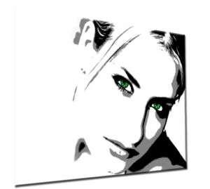 87 Sexy Sarah Connor Bilder Modern POP ART Leinwand