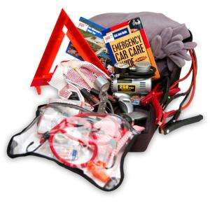AAA Emergency Road Warrior Safety and First Aid Kit 77 Piece 4294AAA