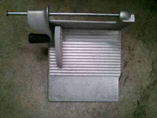 HOBART 1612, 1712, 1812, 1912 MEAT SLICER ALUMINUM CARRIAGE TRAY WITH