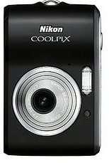 Nikon CoolPix Digital Camera, Black, 7.1Mp   used