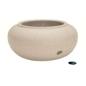 Akro Mills Garden Hose Storage Pot 93021SANDS