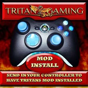 XBOX 360 RAPID FIRE TRITAN MOD KIT INSTALLED TO YOUR OWN CONTROLLER