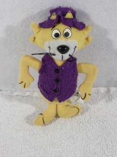 Hanna Barbera TOP CAT 6 plush toy Dairy Queen topcat