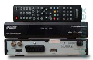 Sat Anlage Micro CS55 HDMI Easyfind Camping SET mit Receiver |