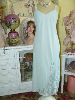 MOTHER OF THE BRIDE Beaded Mint Green PARTY JACKET DRESS 12