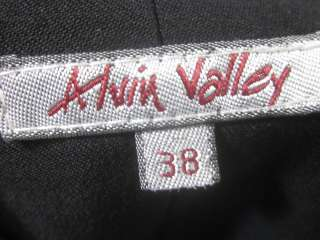 ALVIN VALLEY Black Flared Dress Pants Slacks Sz 38