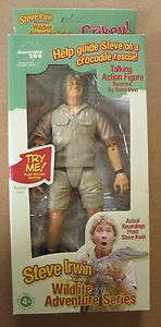 STEVE IRWIN collectable talking action figure.