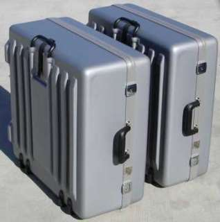 and S coupling 10 side pull grey hard travel case