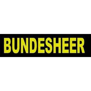 BUNDESHEER 2xLogos klein gelb für Julius K9® / Logo Klettlogo