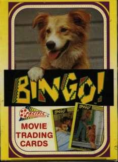 Bingo Dog Movie Trading Cards Case (20 boxes) #229