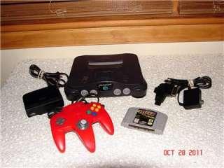 Nintendo 64 Model NUS 001 (USA) w/1 Controller & 1 Game BUNDLE