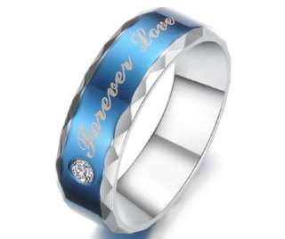 Titanium Ring Set Wedding Lover Couple Pair Matching Engagement Gift